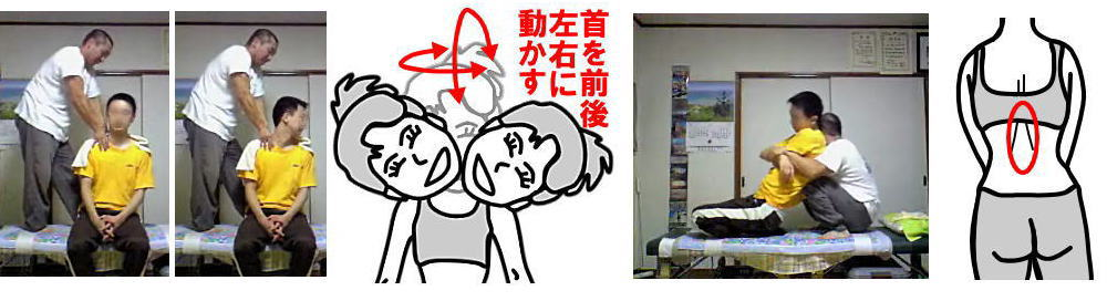 札幌厚別江別の整体院施術イメージ画像