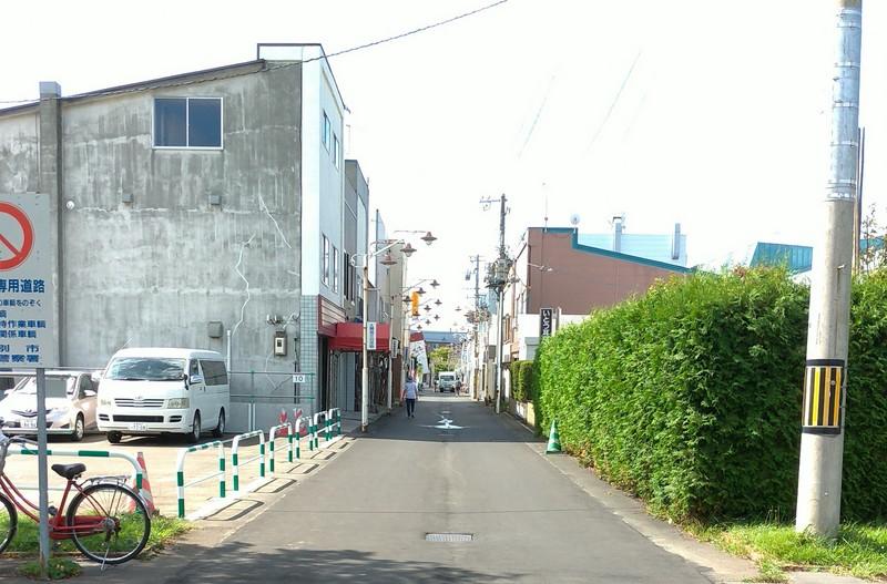 札幌厚別江別の整体院画01・大麻東町の銀座商店街